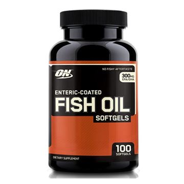 Picture of ON ENT Coated Fish Oil - 100 Softgels