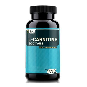 Picture of ON L Carnitine 500 mg - 60 tabs