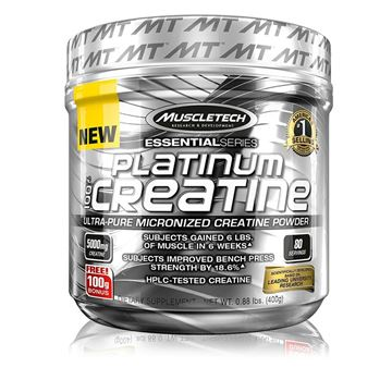 Picture of Muscletech Platinum 100% Creatine - 0.89 lb