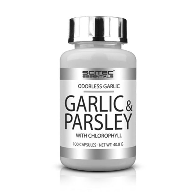 Picture of Scitec Garlic & Parsley 100 Capsules