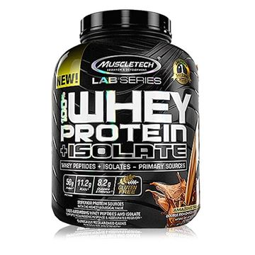 Picture of Muscletech 100% Whey Protein Plus Isolate  5lb