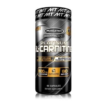 Picture of Muscletech PLATINUM 100% L-CARNITINE 60 Capsules