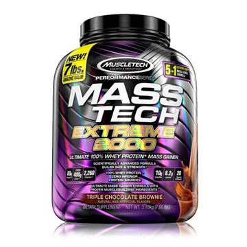 Picture of Muscletech Mass Tech Extreme 2000 7lb
