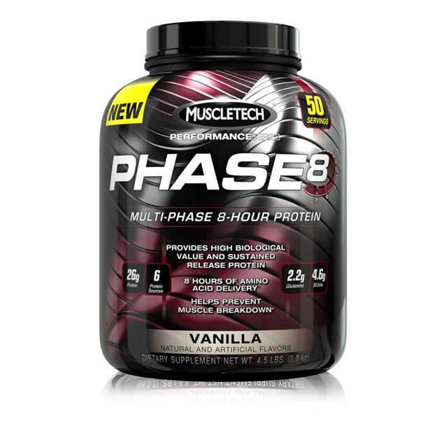 Picture of Muscletech Multi Phase 8 Hour Protein 4.37lb