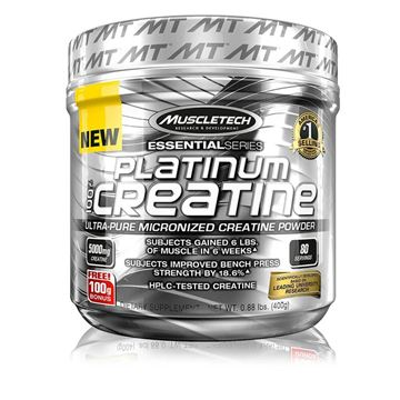 Picture of Muscletech Platinum 100% Creatine - 0.89lb