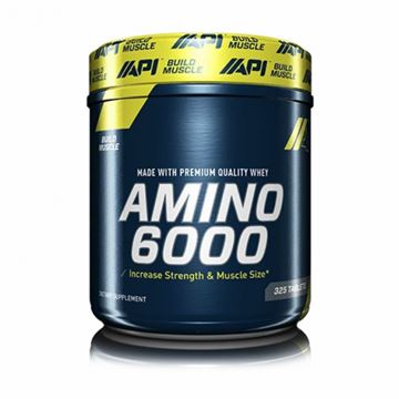 Picture of API Amino 6000 325 Tabs