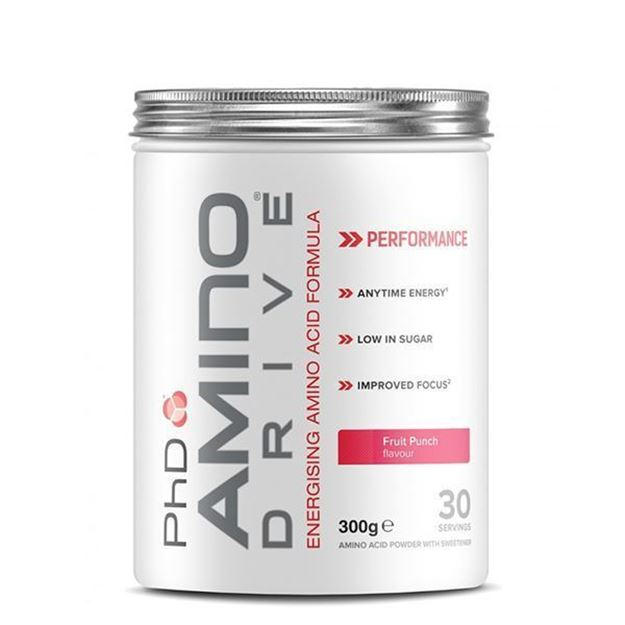 PHD-Amino -Drive-energising-nutrition-facts