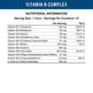 Applied Nutrition Vitamin B Complex 90 Capsules   90 Servings